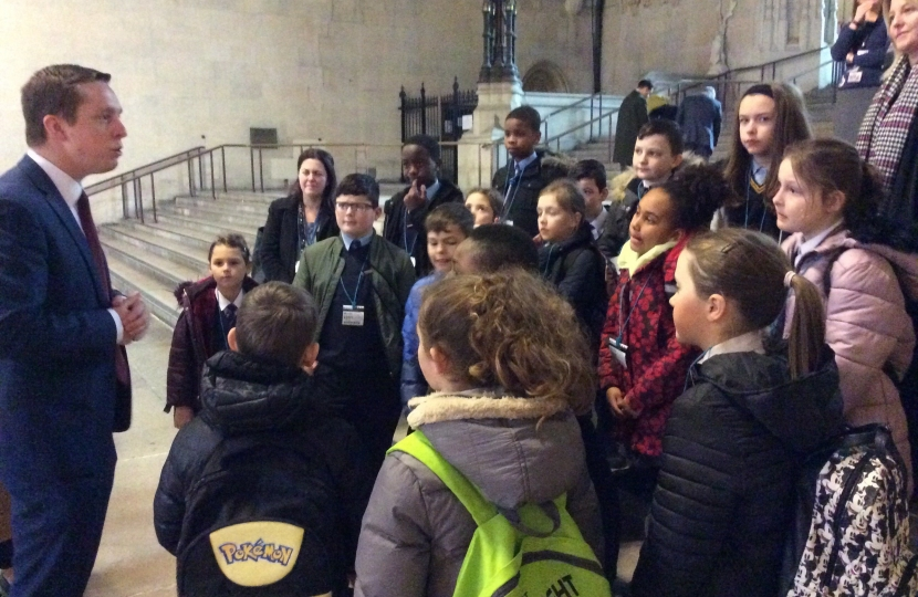 A School Visit to Westminster