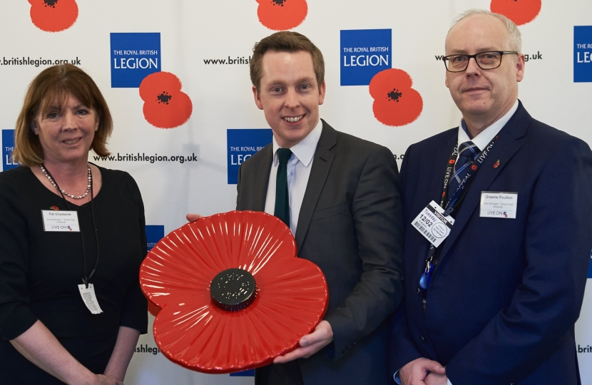 Royal British Legion event Feb '19