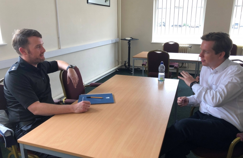 Meeting with Inspector Scott Little